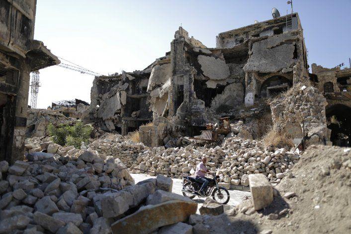 Alepo, símbolo de la fuerza... y las limitaciones de Assad