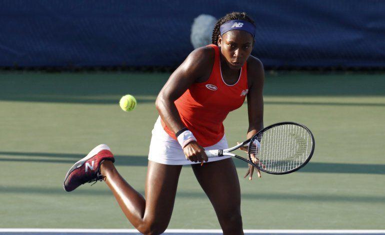 Adolescente Coco Gauff recibe wild-card para el U.S Open