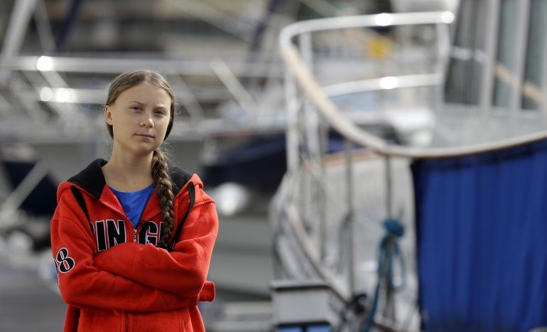 Travesía de Greta Thunberg a EEUU no es un viaje de placer
