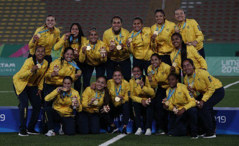 Campeonas panamericanas de Colombia reivindican su título