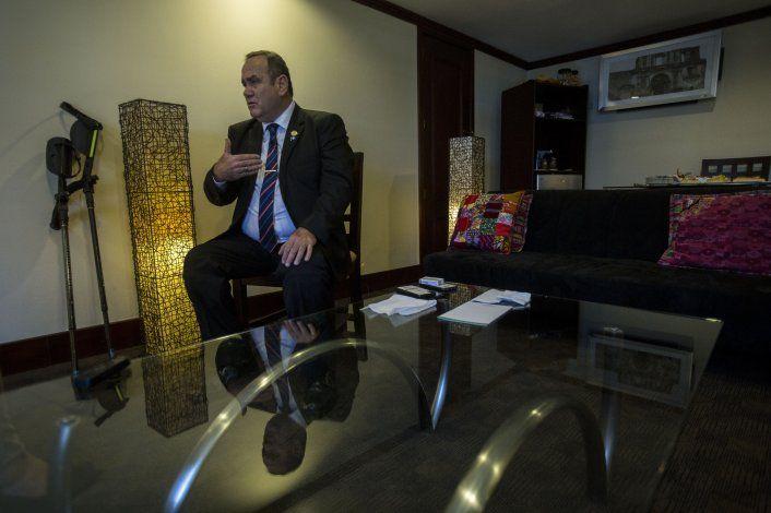 Giammattei: Guatemala no es un tercer país seguro