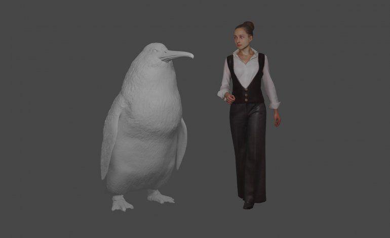 Un pingüino gigante nadó alguna vez en los océanos