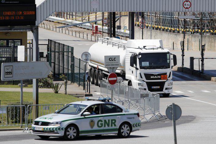 Portugal abastece gasolineras a pesar de huelga