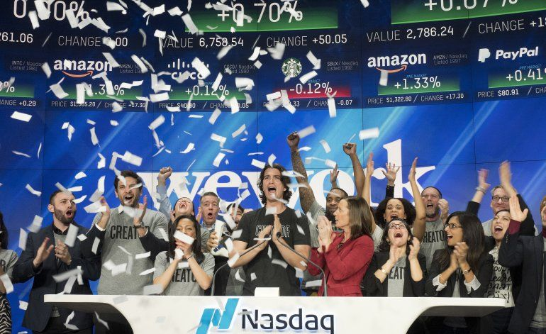 WeWork revela pérdidas, aumento de ingresos al preparar OPI