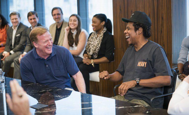 Jay-Z defiende acuerdo con la NFL y habla de Kaepernick