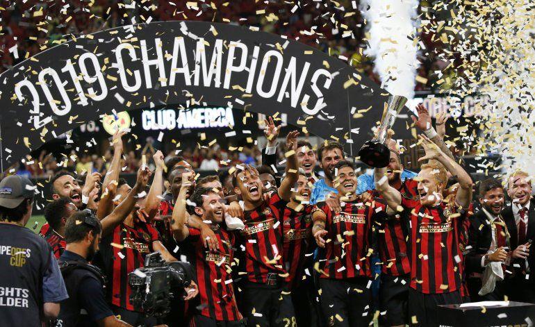 Atlanta United vence 3-2 al América en la Copa de Campeones