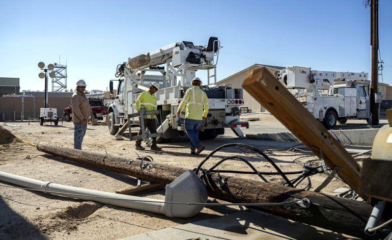 Base militar en California sufrió graves daños por sismos