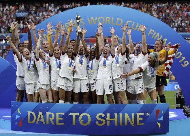 Fracasa negociación sobre paga a selección femenina de EEUU
