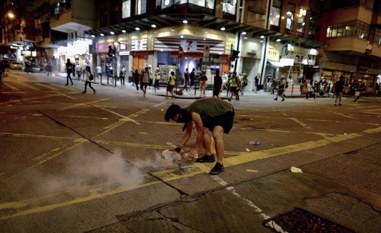Hong Kong: Oficiales desconocen si China intervendrá