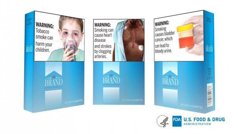 Tratan de nuevo de poner imágenes explícitas en cigarrillos