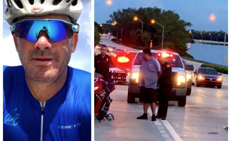 Sale libre sin cargos el cubano que le disparo mortalmente a un ciclista en el viaducto Rickenbacker