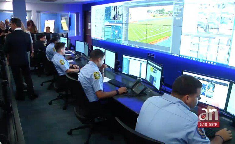 Nuevo Centro de Comando de la Policía de las Escuelas de Miami-Dade: incluye Sistema con más de 18 mil cámaras