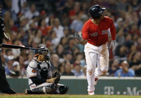 Rodríguez y Devers llevan a Boston en victoria ante Orioles