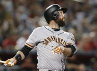 gigantes ganan 11-6 a arizona con grand slam de belt