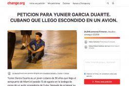 miami: recogen 24 mil firmas para que polizon cubano no sea devuelto a la isla