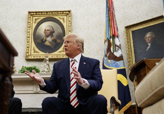 Trump y Maduro reconocen diálogo entre EEUU y Venezuela