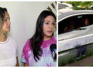 una pareja del sw de miami es victima de vandalismo y robo de sus dos autos audi