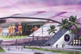 miami contrato una empresa para analizar resultados del terreno en el que david beckham quiere construir estadio de futbol