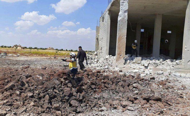 Gobierno sirio abre pasillo para civiles en una zona rebelde