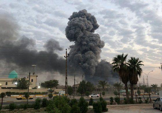 EEUU confirma que Israel bombardeó arsenal de Irak