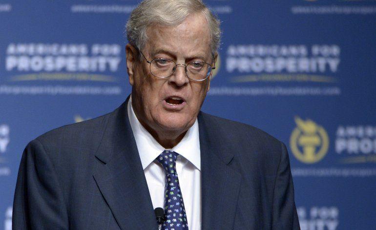 Fallece a los 79 años el multimillonario de EEUU David Koch