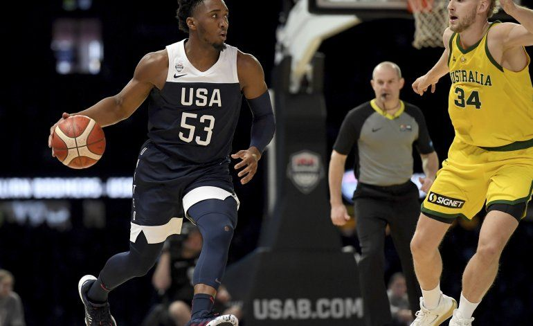 Australia sorprende con triunfo 98-94 ante Estados Unidos