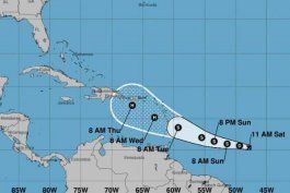 depresion tropical podria fortalecerse al acercarse a caribe