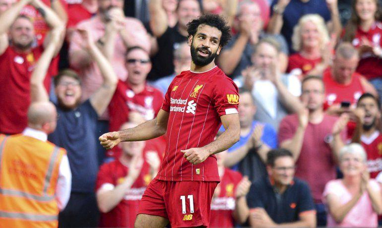 Con doblete de Salah, Liverpool somete 3-1 a Arsenal