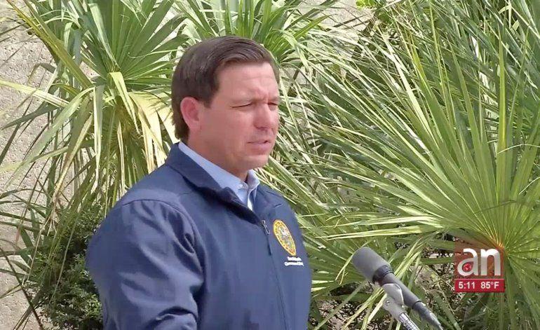No espere hasta que sea demasiado tarde Gobernador pide a los residentes de Florida estar preparados para lo peor