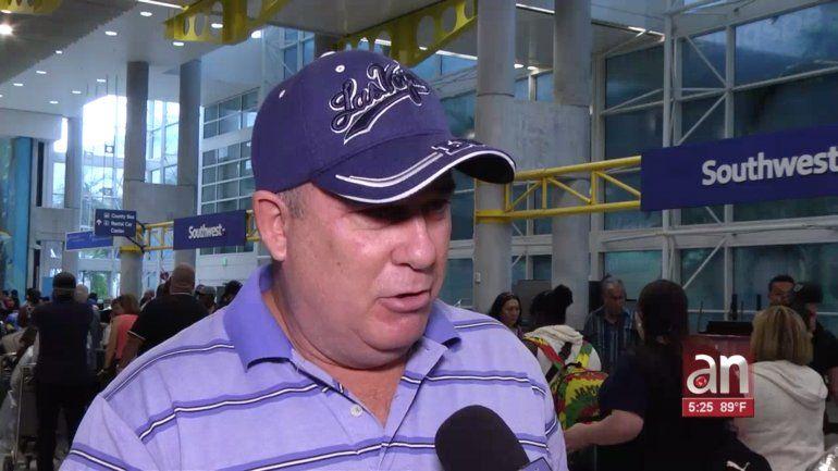 Cubanos varados en el aeropuerto de Fort Lauderdale por Dorian ya pudieron volar a la isla tras reapertura de operaciones