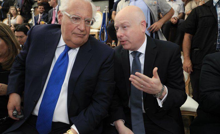 EEUU: Renuncia encargado de plan de paz para Medio Oriente