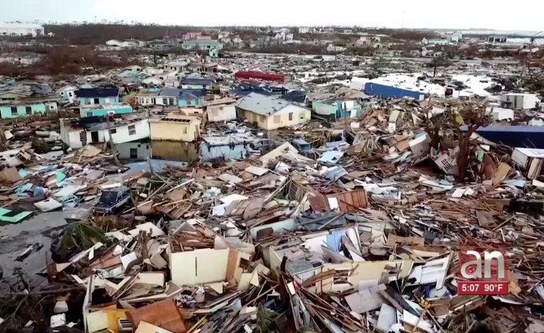 Estiman en unos $7,000 millones las perdidas por huracán Dorian en Bahamas
