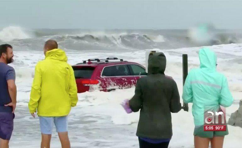 Huracán Dorian azota las Carolinas con riesgo de inundaciones