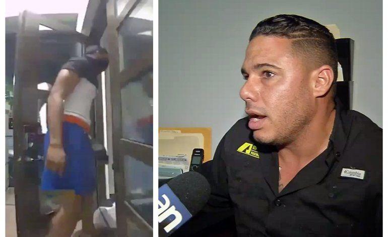 Captado en cámara: Dos hombres entran en la casa de una familia cubana de Miami Lakes para robarles