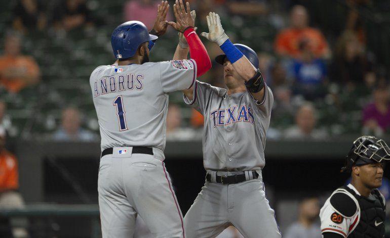 Allard y Solak encabezan victoria de Rangers sobre Orioles