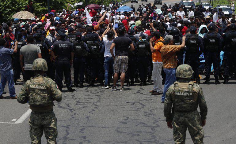 México considera un éxito reducir 56% migración a EEUU