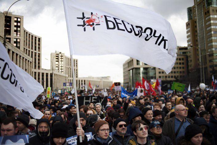 """Nace la """"Bessrochka"""", movimiento de protesta en Rusia"""