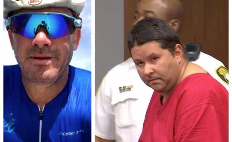 Acusan formalmente al motociclista involucrado en la muerte del ciclista cubano en el viaducto Rickenbacker