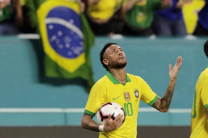 Neymar anota y Brasil empata 2-2 con Colombia en Miami
