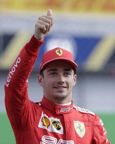 Leclerc tiene la pole para GP de Italia de F1