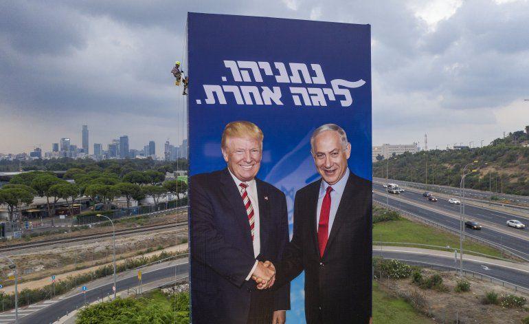 Netanyahu igual que Trump, pide cámaras en elecciones