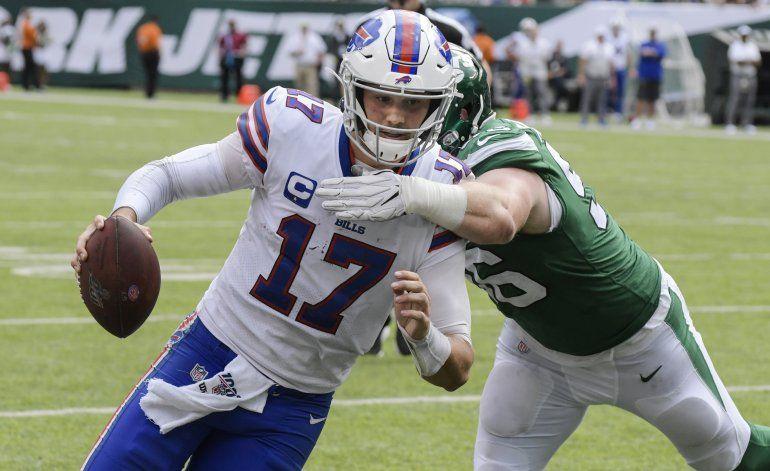 Allen y Bills borran desventaja de 16 puntos ante Jets