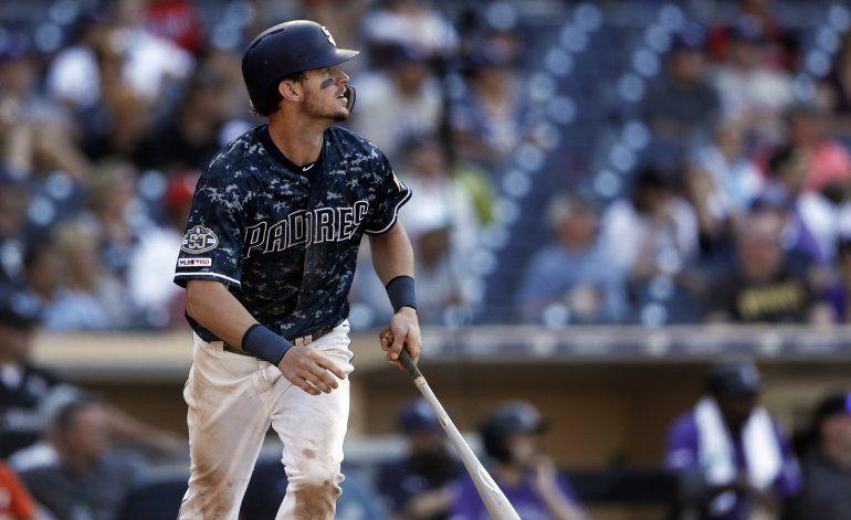 Myers define en la 10ma; Padres superan a Rockies