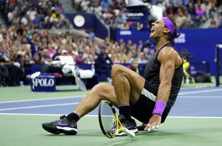 Nadal conquista su 19no título de Grand Slam y 4to US Open