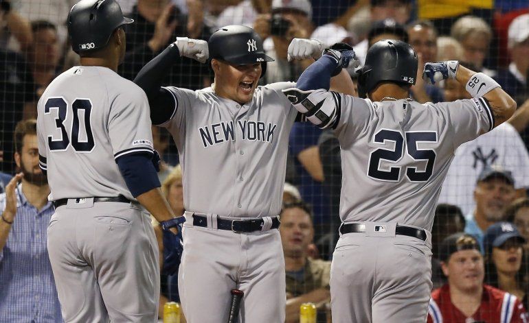 Torres pega jonrón y Yanquis ganan en Boston