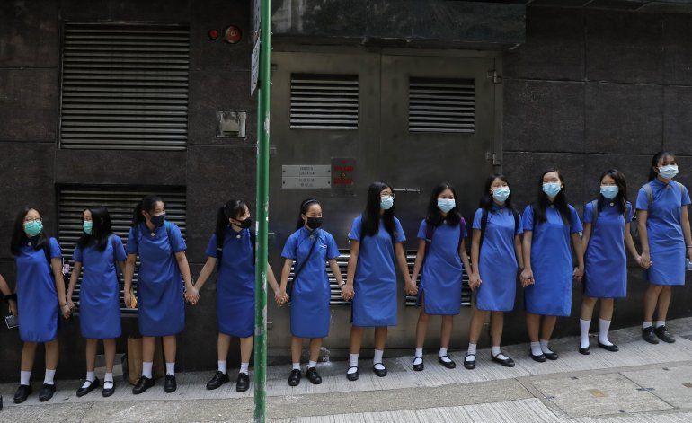 Hong Kong dice a EEUU que se mantenga al margen de protestas