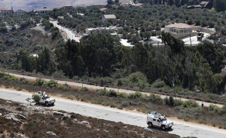 Hezbollah dice haber derribado un dron israelí en Líbano