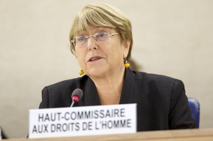 Comisionada DDHH de ONU cita continuos abusos en Venezuela