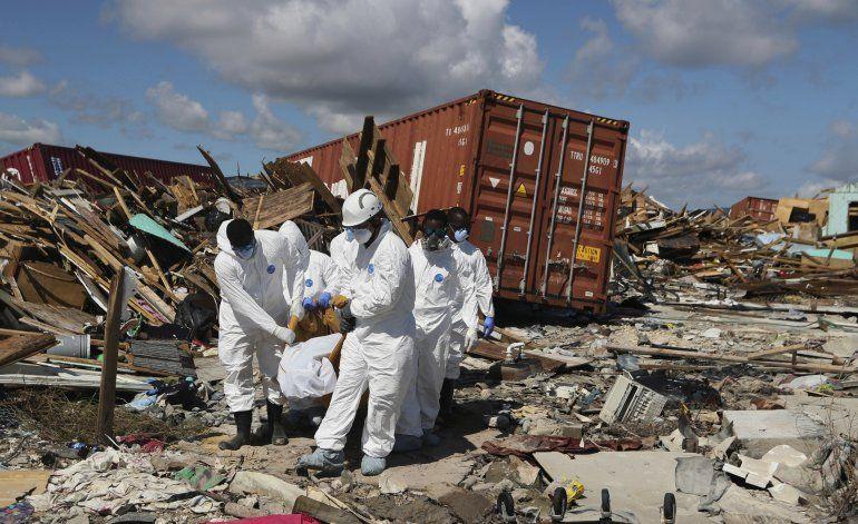 Bahamas: Suman 44 muertos por Dorian