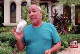 habla cubano que lo perdio todo en su residencia de las bahamas tras el paso de dorian